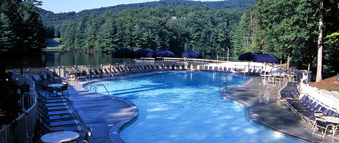 Swim club for Big canoe lodge